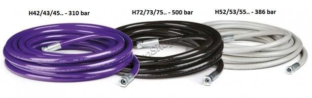 """Шланг высокого давления, 1/2"""", 500 bar, 30,5 м"""